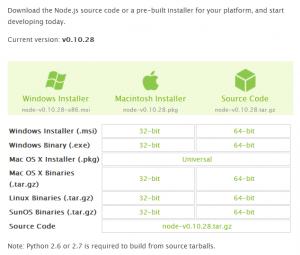 node.js-download